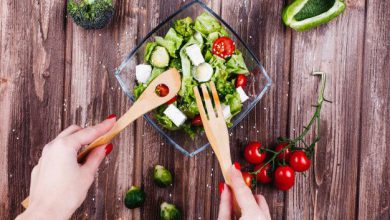 میزان کالری موجود در مواد غذایی مختلف