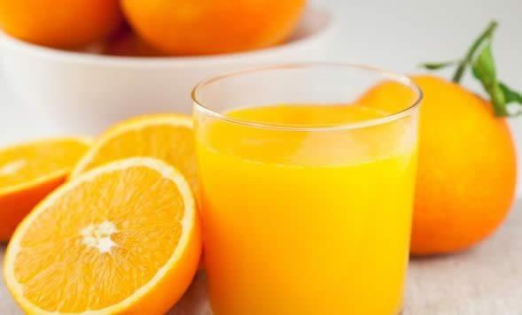 سبزیجات چربیسوز - آب پرتقال