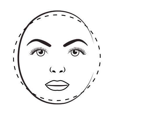 صورت گرد