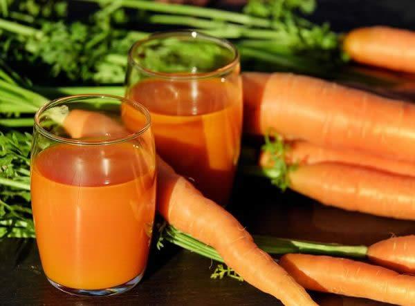 سبزیجات چربیسوز - آب هویج
