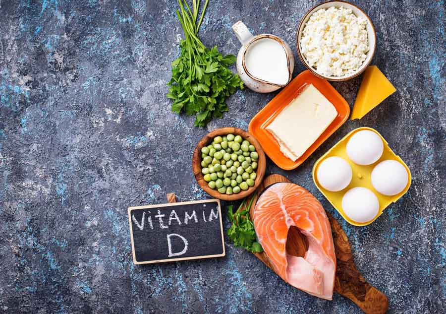 منابع اصلی ویتامین D